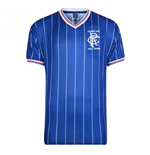 Maillot Score Draw Rangers League Cup Final Home 1984