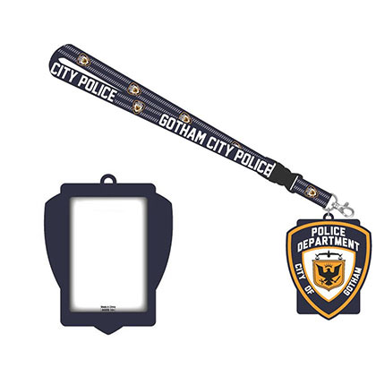 Cordon et porte-badge Batman - Gotham Police Department
