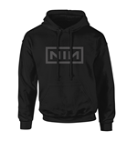 Sweat à Capuche Nine Inch Nails - Classic Grey Logo
