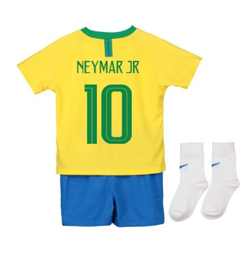 Tenue de football pour enfant Brésil Football 2018-2019 Home