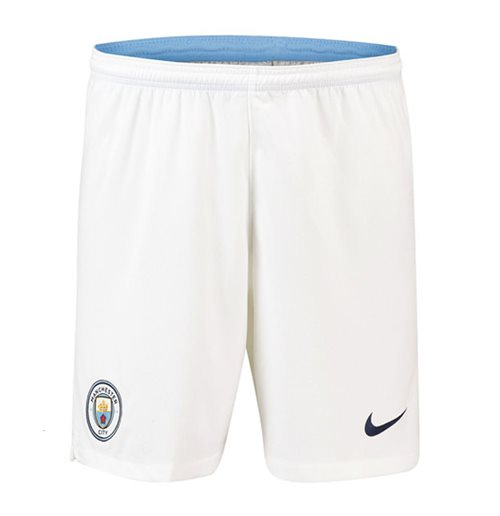 Short Manchester City FC 2018-2019 Home (Blanc)