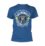 T-shirt Gas Monkey Garage - Lightning Bolts