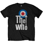 T-shirt The Who  pour homme - Design: Elevated Target