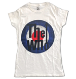 T-shirt The Who  pour femme - Design: Vintage Target