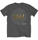 T-shirt The Beatles: Abbey Road Songs Swirl