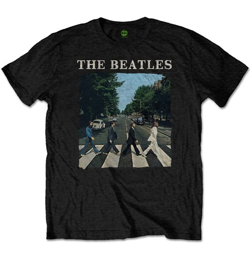 T-shirt The Beatles: Abbey Road & Logo