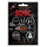 Épinglette AC/DC - Design: For Those About To Rock