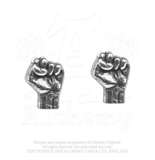 Boucles d'Oreilles Rage Against The Machine  - Design: Fist