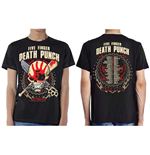 T-shirt Five Finger Death Punch  pour homme - Design: Zombie Kill Fall 2017 Tour