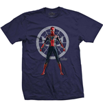 T-shirt Marvel Superheroes pour homme - Design: Avengers Infinity War Spider Character