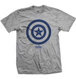 T-shirt Marvel Superheroes pour homme - Design: Avengers Infinity War Capt. America Icon
