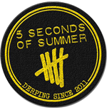 Patch 5 seconds of summer - Design: Derping Stamp