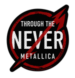 Patch Metallica - Design: Through the Never