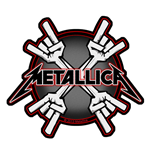 Patch Metallica - Design: Metal Horns