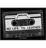 Patch Metallica - Design: No Life 'Til Leather