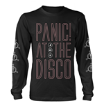T-shirt Manches Longues Panic! At The Disco - Outline Name