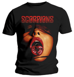 T-shirt Scorpions pour homme - Design: Scorpion Tongue