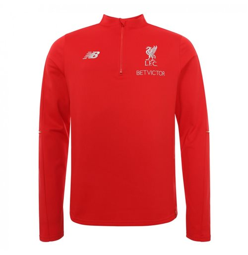 Sweat-shirt d'Entraînement Hybride Liverpool FC 2018-2019 (Rouge)