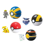 Pokemon assortiment Clip´n´Carry Poké Ball Wave D13 (6)