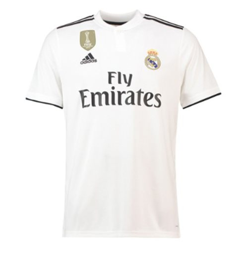Maillot de Football Real Madrid Home Adidas 2018-2019