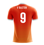 Maillot de Football Hollande Airo Concept Home 2018-2019 (V. Basten 9)