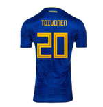 Maillot Suède Football 2018-2019 Away