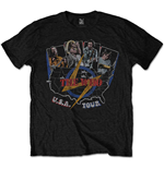 T-shirt The Who  pour homme - Design: USA Tour Vintage