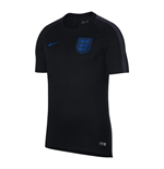 T-shirt Angleterre Football 2018-2019 (Noir)