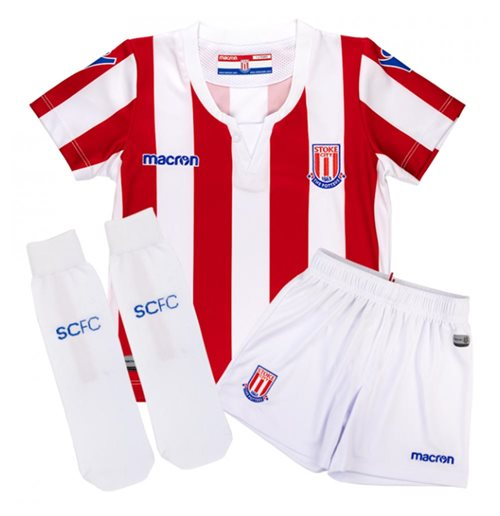 Tenue de football pour enfant Stoke City FC 2018-2019 Home