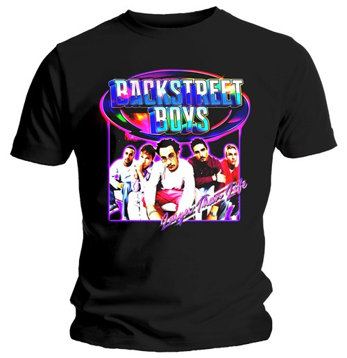 T-shirt Backstreet Boys: Larger Than Life