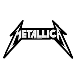 Patch Metallica - Design: Shaped Logo