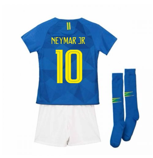 Tenue de football pour enfant Brésil Football 2018-2019 Away
