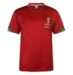 T-shirt Maroc Football (Rouge)