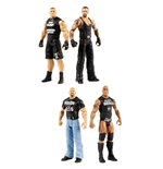 WWE 2018 assortiment packs 2 figurines Tough Talkers 15 cm (4) *ANGLAIS*