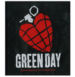 Patch Green Day - Design: Heart Grenade
