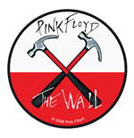 Patch Pink Floyd - Design: Hammers