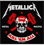 Patch Metallica - Design: Metal Militia