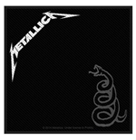 Patch Metallica - Design: Black Album