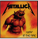 Patch Metallica - Design: Jump in the Fire