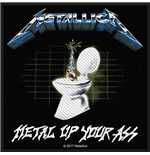 Patch Metallica - Design: Metal Up Your Ass