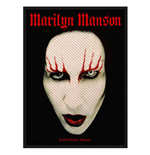Patch Marilyn Manson - Design: Face