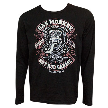 Sweat-shirt Gas Monkey Hot Rod Garage - Blood Sweat and Beer