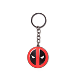 Deadpool porte-clés métal Big Face 7 cm