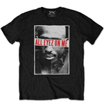T-shirt Tupac  pour homme - Design: All Eyez