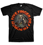 T-shirt Five Finger Death Punch  pour homme - Design: Seal of Ameth