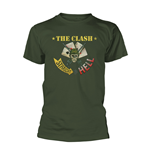 T-shirt The Clash - Straight Aces