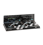 SET MERCEDES W07 COSTRUCTOR WORLD CHAMPION 2016 ROSBERG HAMILTON