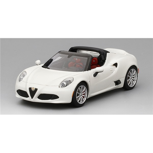 achetez alfa romeo 4c spider matte white 2016. Black Bedroom Furniture Sets. Home Design Ideas