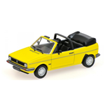 VOLKSWAGEN GOLF CABRIOLET 1980 YELLOW