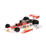 McLAREN FORD M23 JAMES HUNT GP JAPAN WORLD CHAMPION 1976 CON GOMME DA PIOGGIA